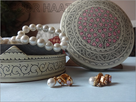 Papier Mache Jewellery Box