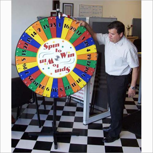 Spining Jackpot Wheel