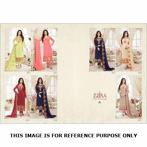 Straight Salwar Kameez (ZAIRA DRESS)