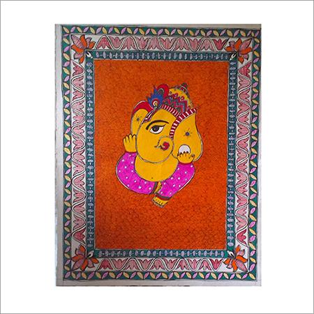 Ganesha Madhubani Painting