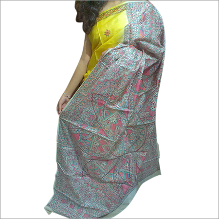 Ladies Tussar Silk Saree