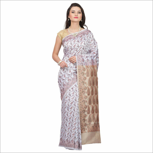 Raw silk patola silk saree