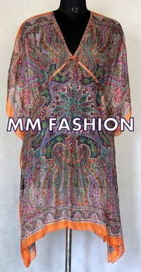 WOMENS PRINTED KAFTAN