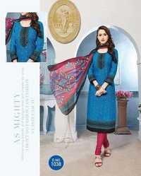 Printed dress balaji arnika vol-3 chiffon dupatta