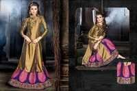 Fancy Readymade Top & Lehanga Suit Online