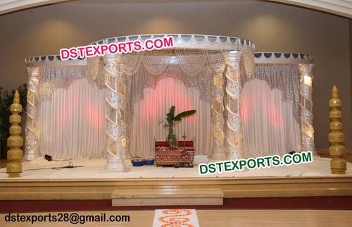 Indian Luxury Mandap For Wedding Decoration