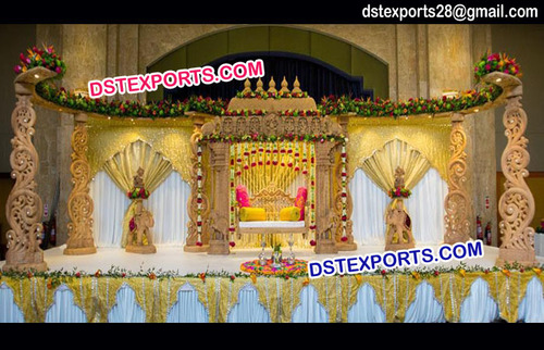South Indian Themed Wedding Decoration