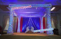 Designer Carved Fiber Wedding Mandap
