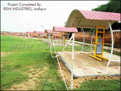 Outdoor Fitness Equipments | Rishi Industries