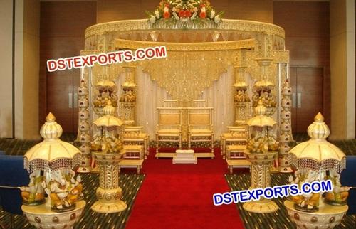 Latest Wedding Ganesha Mandap