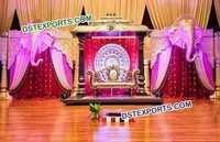 Royal Wedding Stage Decoration