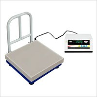 Platform weighing scales