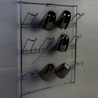Stainless Steel Kitchen Glass Holder Wall Mounting