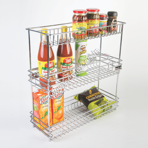 Stainless Steel Kitchen Multi Organiser