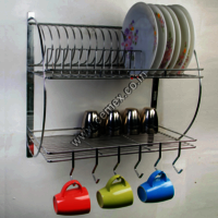 Stainless Steel Kitchen Organiser