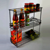 Stainless Steel Multi Kitchen Organiser