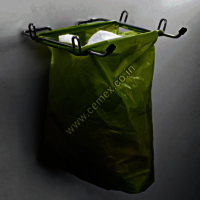 Stainless Steel Kitchen Bin Bag Holder