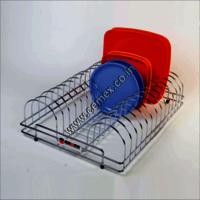 Stainless Steel Kitchen Plate Holder