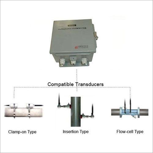 Ultrasonic Fluid Flow Meter