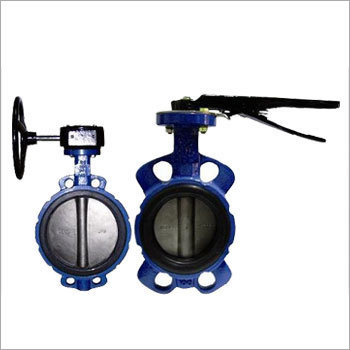 Manual And Damper Butterfly Valve