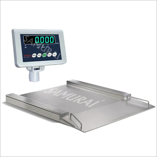 Flame Proof Platform Scales (304 Stainless Steel Platform)