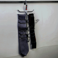 Stainless Steel Tie and Belt Hanger