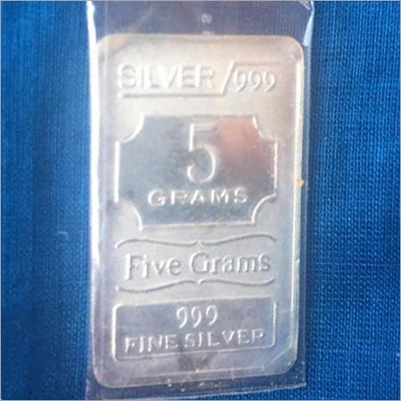 5 Gram Fine Silver Bar Ignot