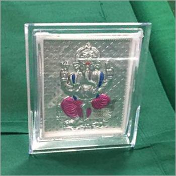 Silver Plated Acrylic Ganesh Frame