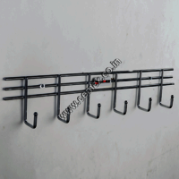 Stainless Steel Bathroom 6 Pin Hanger