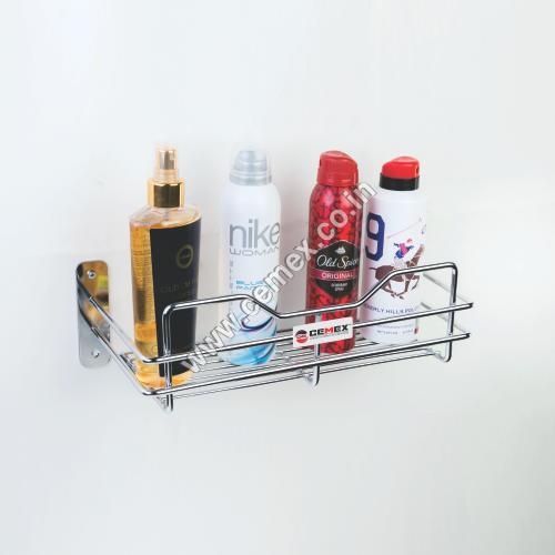 Stainless Steel Perfume & Shampoo Rack