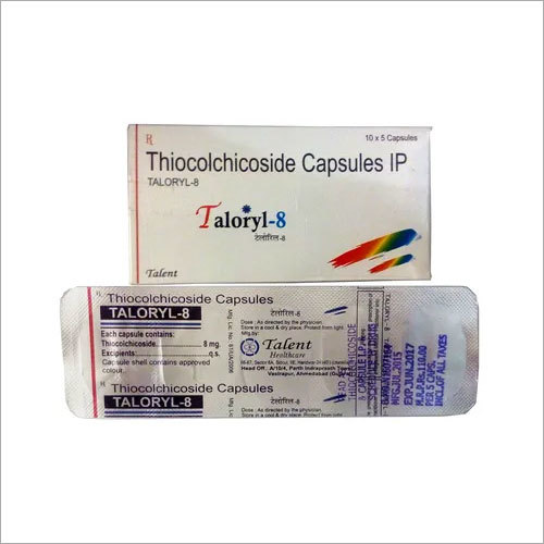 Thiocolchicoside 8 mg tablets