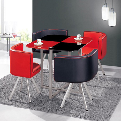 Dining Table Red And Black
