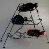 Stainless Steel 6 Bottle Bar Rack