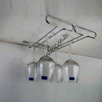 Stainless Steel Bar Glass Holder 2 Line