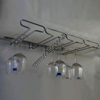 Stainless Steel Bar Glass Holder 4 Line