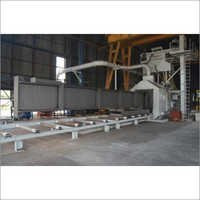 STRUCTURE Shot Blasting Machine