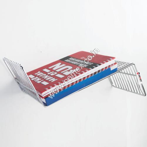 Stainless Steel Designer Book Shelf
