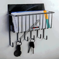 Stainless Steel Key & Letter Holder