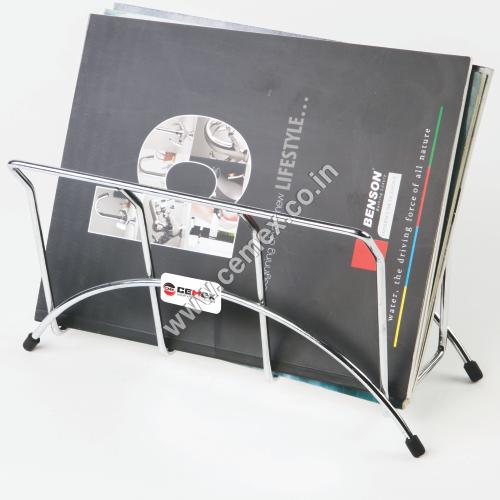 Stainless Steel Magazine Holder
