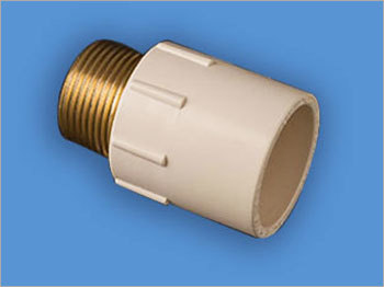 Brass Threaded CPVC Reducing Male Adapter