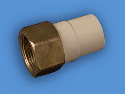 Brass Threaded CPVC Female Adapter
