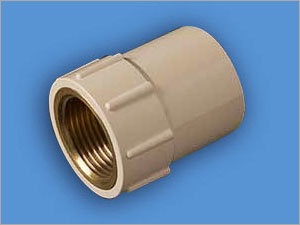 Brass Threaded CPVC Reducing Female Adapter