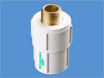 Brass Threaded UPVC Reducing Male Adapter