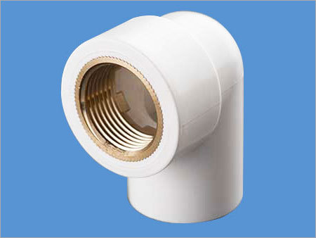 UPVC Brass Threaded Elbow
