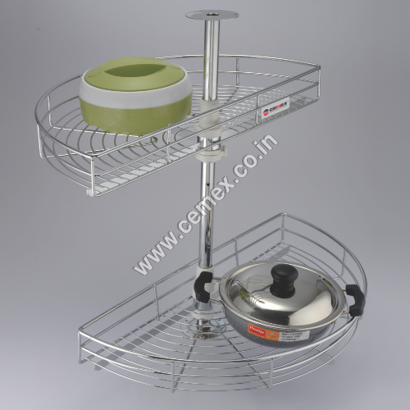 Stainless Steel D-Carousel