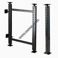 Stainless Steel Pole Cabinet System
