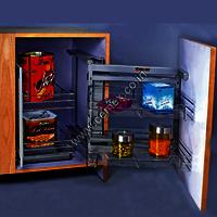 Stainless Steel Kitchen Logic Corner