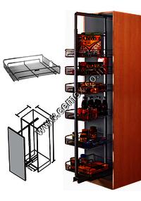 Stainless Steel Kitchen Tall Unit