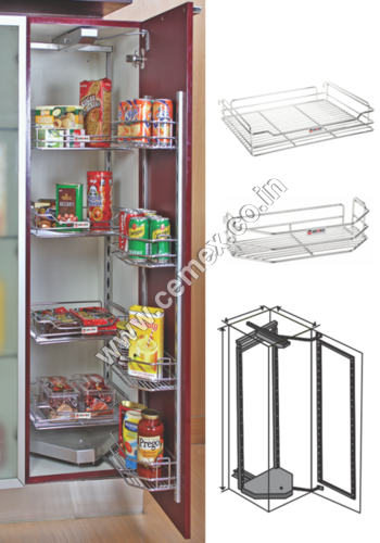 Stainless Steel Kitchen Pantry Unit