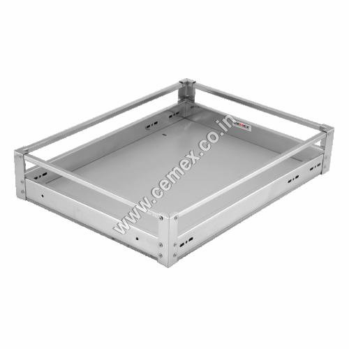 Stainless Steel ACP Plain Kitchen Basket